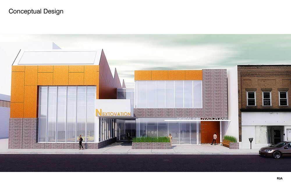Digital Lab Exterior Rendering